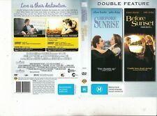 Before Sunrise-1995- Ethan Hawke & Before Sunset-2006-2 Movie-2 Dvd