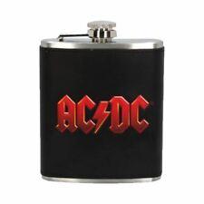 Ac/Dc Logo Hip Flasque en Boîte Cadeau - Nemesis Now Musique Marchandise