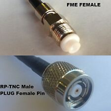 RG316 FME FEMALE to RP-TNC MALE Coaxial RF Cable USA-US