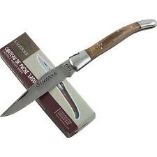 Baladeo Laguiole Olive Wood Folder Pocket Knife BALDUB015 Folding Blade