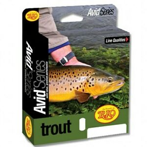 RIO Avid Trout Sink Tip Fly Line Excellent for Still Water and Rivers