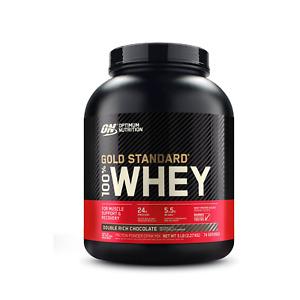Optimum Nutrition Gold Standard 100% Whey Protein Powder 5lbs - Choose Flavor