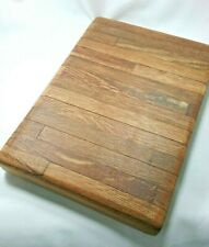 Small Handmade Rustic Chopping board wood Chopping Board Butchers Blocks - OAK