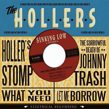 "THE HOLLERS Holler's Stomp 7"" . black keys guadalupe plata oblivians bassholes"