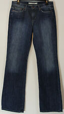 Joe's Womens Jeans Size 28 Boot Cut Loose Fit Distressed Lucus Wash AOLC5780