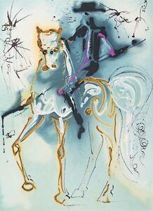 Salvador Dali - Picador (signed lithograph, 1983)