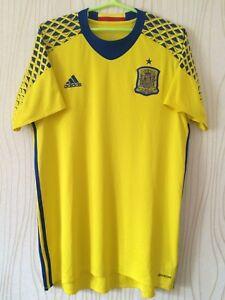 SPAIN ESPANIA TEAM 2016 2017 ADIDAS FOOTBALL SOCCER SHIRT JERSEY CAMIESTA