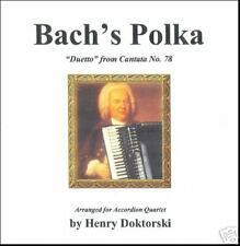 Printed Music & CD: Bach's Polka: Duetto from Cantata No. 78 for Accordion