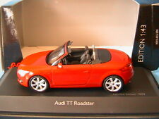 AUDI TT ROADSTER BRILLIANT RED 2007 SCHUCO 04781 1/43 CABRIOLET ROT ROUGE ROSSO
