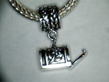 SILVER PLATED DANGLE MAIL BOX CHARM SPACER BEAD ** MAILBOX OPENS
