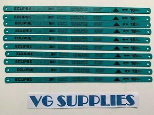 "Eclipse Plus30 Flexi Bi-Metal High Speed Steel Hacksaw Blades 300mm/12""24TPI x10"