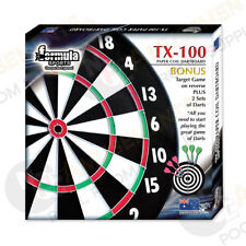 "Full Size 18"" TX100 Cheap Economical NEW Dart Board includes FREE Darts ON SALE"