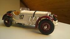 MERCEDES SSK-SSKL Cabrio 1928-modello di auto Bburago 1:18