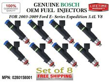 8x Refurb Fuel Injectors OEM Bosch 2003-2009 Ford E- Series & Expedition 5.4L V8