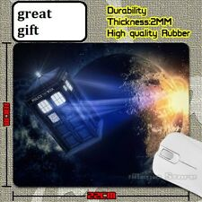 DR WHO TARDIS  Anti slip COMPUTER MOUSE PAD 9 X 7inch The Doctor
