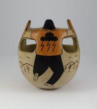Angea Tohono O'odham Native American Friendship Vase Ritual Dance 1991 AZ Tribe