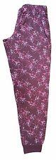 Womens Nightwear Casual Lounge Pants Ladies Pyjamas PJ Bottoms  S/ M/ L/ XL/ 2XL