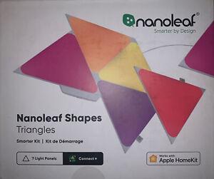 Nanoleaf Shapes Triangles Smarter Kit (7 Panels) Multicolor Brand New Sealed