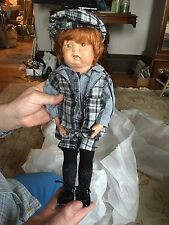 "Antique 16 1/2"" Schoenhut Walkable Doll Pat. 1911,1919,1920"