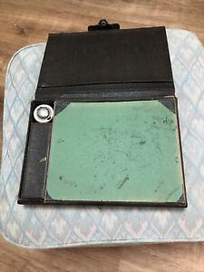 ANTIQUE FOLDING DOCUMENT WRITING LAP/ DESK CAMPAIGN