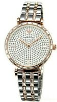 Emporio Armani Gianni Two Tone Silver & Rose Gold Steel Women's Watch AR11293