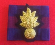 Grenadier Guards Officers Beret Badge GG Bullion Wire Badge + Division Flash
