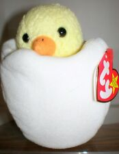 466905c1d36 TY Beanie Baby EGGBERT CHICK IN A EGG 1 ERROR 6 inch MWMT Stuffed toy !