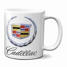 CADILLAC COFFEE MUG 11oz WREATH AND CREST CERAMIC ATS SUV GM CADI