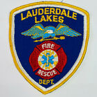 Lauderdale Lakes Fire Rescue Department Broward County Florida FL Patch (I5)
