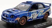 Saico 1/32 Scale Model Car 33602MBB - 2002 Subaru Impreza WRC