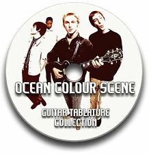 OCEAN COLOUR SCENE ROCK GUITAR TABS TABLATURE SONG BOOK SOFTWARE CD