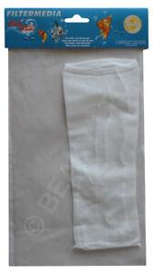 Aquarium Media Bag - Holds Media in Filter 10x23 cm Suitable for Fine Media