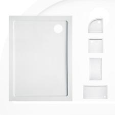 Piatto doccia in resina ultra slim acrilico bianco 3,5 H struttura rinforzata