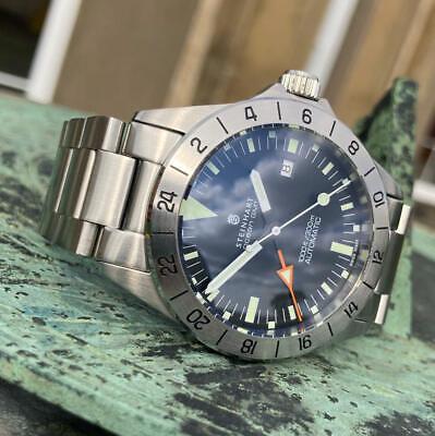Steinhart Ocean One Vintage GMT Automatic Dive Watch