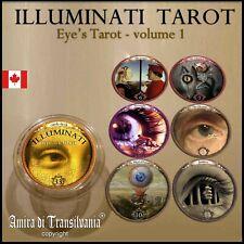 eyes tarot card cards deck illuminati new world order rare collection guide book