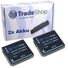 2x AKKU für Panasonic DMC-LX1 DMC-LX2 DMC-LX9 DMC-FX01