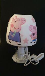 Peppa Wutz Tischlampe Peppa Pig Lampe Nachtlicht Kinderzimmer Deko Serviette LED