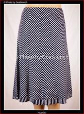 Unbranded Cotton Blend Striped Regular Size Skirts for Women