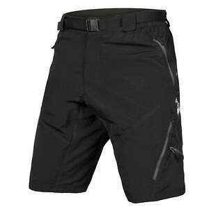 ENDURA HUMMVEE SHORT II WITH LINER Black (Size Small Only)