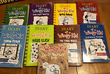 Diary of a Wimpy Kid Collection 9 Books Book Set by Jeff Kinney Boxed
