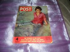 PICTURE POST MAGAZINE 16th JUNE 1956 Cover WHAT HAPPENED TO TERRY MOORE?