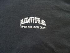 Clint Black & Wynonna Local Crew Xl concert t-shirt staff only 1993 tour