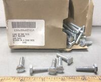 "Box of 100 - 1/4"" Hex Head Machine Bolts (NOS)"
