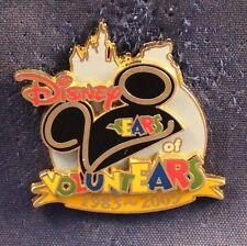 Disney Dlr Dca Disneyland Voluntears 20 Years Pin