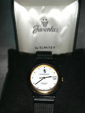 💎OROLOGIO WATCH TIFOSO JUVENTUS F.C. BY ELMITEX DESIGN VINTAGE DATA DATARIO BOX