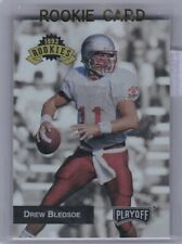 Rookie Card  NFL Drew Bledsoe New England Patriots