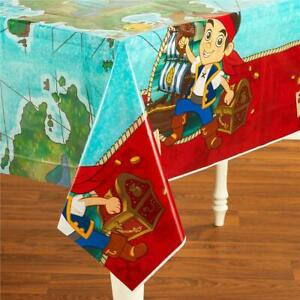 Jake And The Neverland Pirates Party Plastic Tablecover Table Cover - New