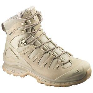 Salomon Forces Quest 4D GTX Goretex Waterproof tactical boots Navajo SEALs Tan