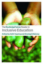 The RoutledgeFalmer Reader in Inclusive Education-ExLibrary