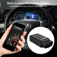 Automotive OBDII ELM327 Bluetooth Check Engine Light Reader Scanner For Android